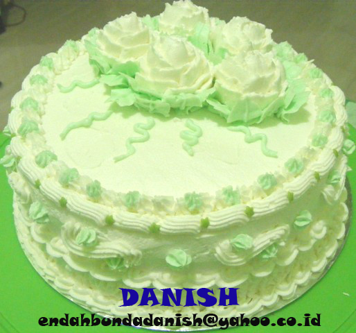 Cake Decorating Danish Cake N Cookies